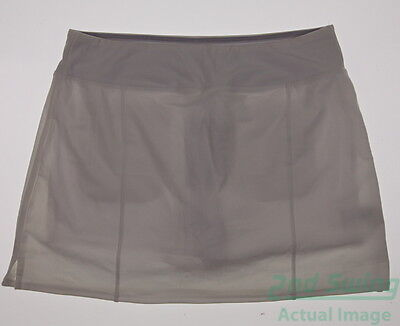 New Womens Adidas Golf Skirt Size Large L White