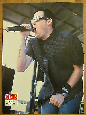 Good Charlotte, Full Page Pinup