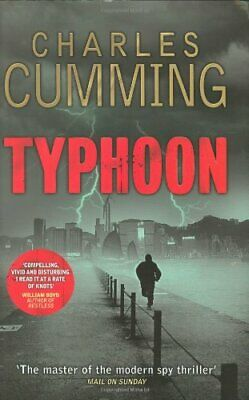 Typhoon by Cumming, Charles Hardback Book The Cheap Fast Free Post