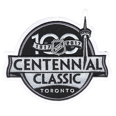 2017 NHL Centennial Classic Game Jersey Patch In Toronto Maple Leafs