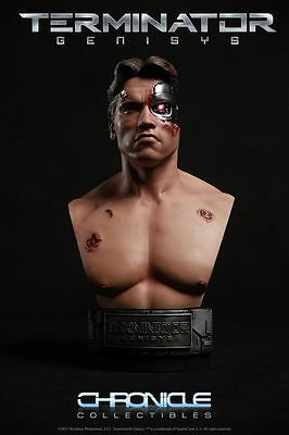 Elite Creature Collectibles / Chronicle Terminator T800 Battle Damaged Bust 1:2