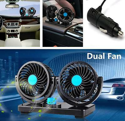 Mini Portable 12V Car Vehicle Truck Cooling Air Fan All-Round Adjustable Cooler