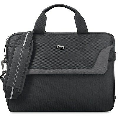 """""""Solo Solo Sterling Carrying Case for 14.1"""""""""""""""" Notebook - Black USLCLA1124"""""""