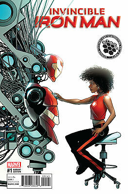 INVINCIBLE IRON MAN #1 MCKONE STEAM VARIANT NOW (MARVEL 2016 1st Print)