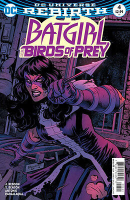 BATGIRL AND THE BIRDS OF PREY #4 (DC 2016 1st Print) COMIC