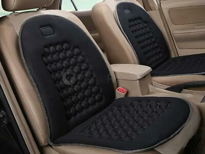 Black Universal Massage Car Van Seat Cover Cushion Protector Magnetic Therapy
