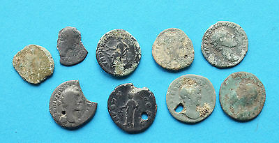 Ancient Roman silver coins