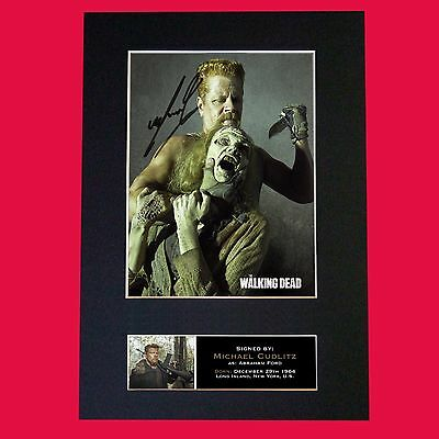 ABRAHAM FORD The Walking Dead Signed Autograph Mounted Photo Repro A4 Print 630