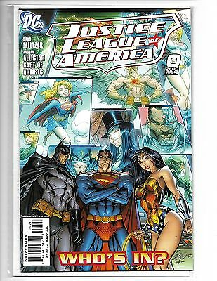 Justice League Of America #0 J Scott Campbell Variant Cover