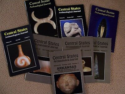 8 Journal Publications Of The Central States Archaeological Society 2005, 2008