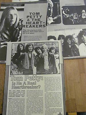 Tom Petty, Lot of Two Vintage Clippings