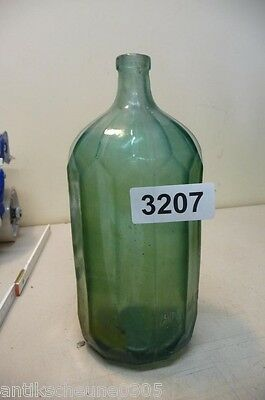 3207. Alte Sodaflasche  Siphonflasche 1 l Old soda siphon seltzer