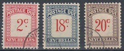 Seychelles 1951 Postage Dues Vfu (Id:871/d42802)
