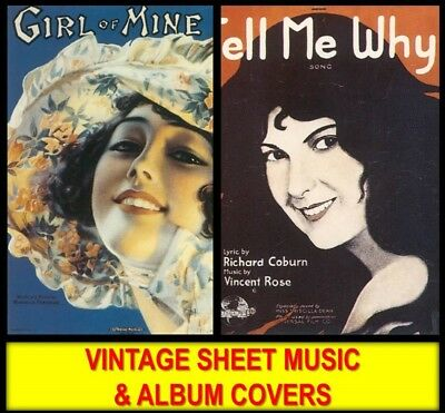 DVD VINTAGE AMERICAN SHEET MUSIC & COVERS Classical Love Songs Piano Art PDF