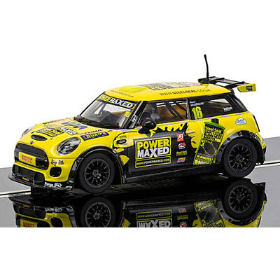 SCALEXTRIC Slot Car C3742 BMW MINI Cooper F56 - MINI Challenge 2015