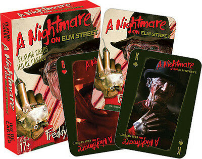 A Nightmare on Elm Street Playing Cards Deck Misc
