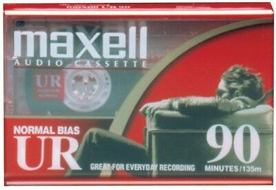 "Maxell Ur-90 ""Single"" Normal Bias Audio Cassette"