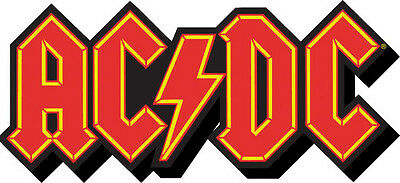 AC/DC Logo Funky Chunky Magnet