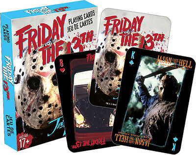 Friday the 13th Playing Cards Deck Misc
