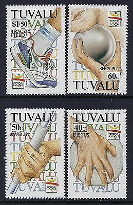 1992 Tuvalu Olympic Games Barcelona Set Of 4 Fine Mint Mnh/muh