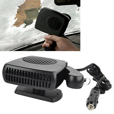12V Portable Ceramic Heating Cooling Heater Fan Car Defroster Demister 150W