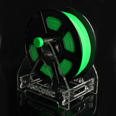1 Spool Acrylic 3D Printer Filament Tabletop Mount Rack ABS/PLA Frame Holder