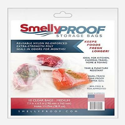 Smelly Proof Bags Medium (10 Pack) New