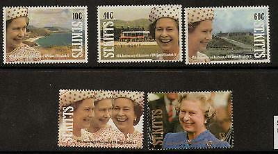St.kitts Sg350/4 1992 Accession Mnh