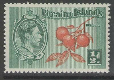 PITCAIRN ISLANDS SG1 1940 ½d ORANGE & GREEN MNH