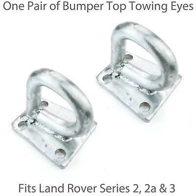 2 Tow Eye Rings For Land Rover Series 2, 2a & 3