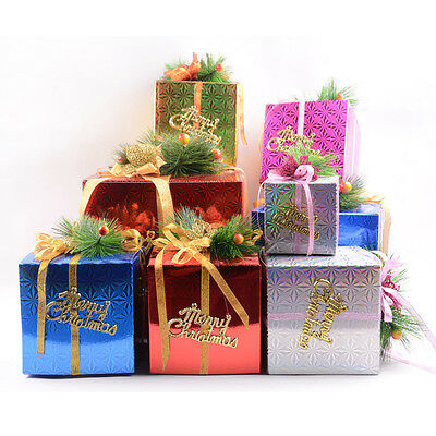 Party Decor Xmas Gift Boxes Christmas Present Packing boxes Candy Boxes