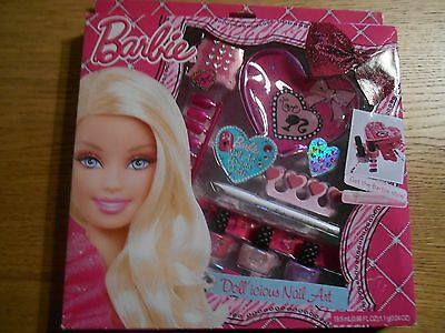BARBIE Doll'icious Nail Art Set New in Box
