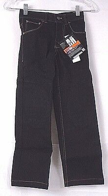 Grindz Slim fit Protective Apperal Padded Pant Youth size 7 Demin Black 88C