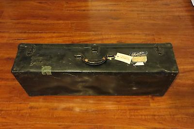 H.C.Roenitz CO.Inc.shoe and rubbers salesman travel trunk suitcase Oshkosh