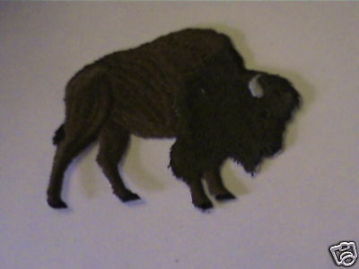 100% Embroidered Buffalo,bull Bison Hunt Wildlife Patch