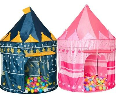 Childrens Kids Pop Up Wizard Castle Garden Indoor Outdoor Playhouse Play Tent