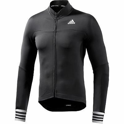 adidas Men's Adistar CD.Zero3 Long Sleeve Compression Full Zip Cycling Jersey