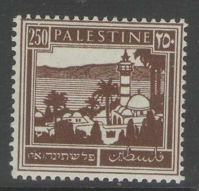 PALESTINE SG109 1942 250m BROWN MTD MINT