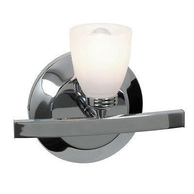 Access Lighting 63811-CH/OPL Sydney Wall Lamp Chrome And Opal Glass