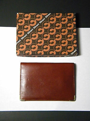 Vintage Silvani Leather Wallet Made in Italy with Original Box