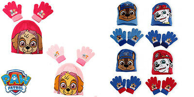 Paw Patrol Hat and Glove Set Childrens Hat & Gloves Official Merchandise Xmas