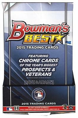 2015 BOWMAN'S BEST BASEBALL Hobby Box - 4 AUTOS! KRIS BRYANT RC & AUTO!?