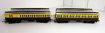 Triang 3 x R332 5017 & 1 x R333 2316 Brake GWR Clerestory Composite Coaches