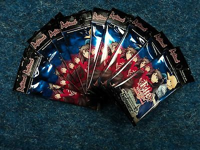 Weis Schwarz Fate Stay Night Unlimited Blade Works 10 Booster Packs