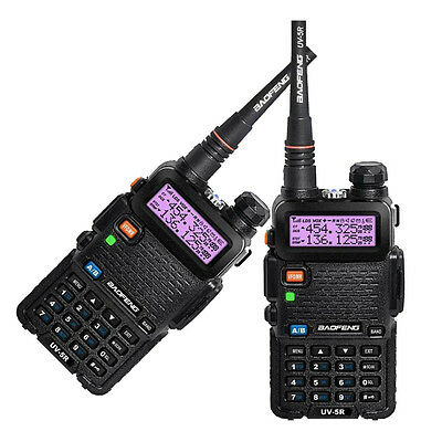 2-sets Baofeng UV-5R Dual-Band 136-174/400-520MHz Ham Two-way Radio In Spain