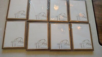 Longaberger set of EIGHT 3x4 note pads, Mint in wrapper, rare and hard to find!