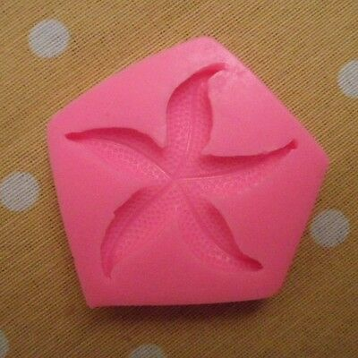 Starfish Silicone Mould Fondant For Cakes Soap Candles Decoration