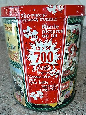 Coca Cola Tin Can 700 Piece Jigsaw Puzzle, Sealed New Vintage Pictures