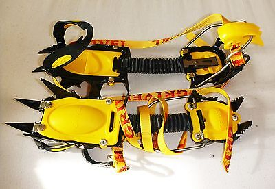 Grivel Rock, ice Climbing, mountaineering 12 point crampons