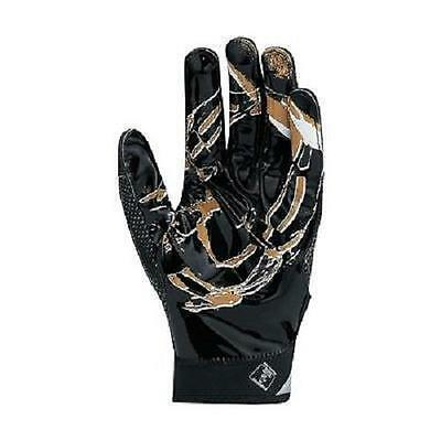 New Nike Adult Superbad 4.0 4 Football Gloves   Black Gold White Various Sizes